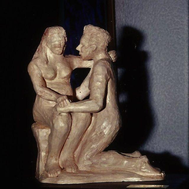 Escultura Amor Cristina Sánchez