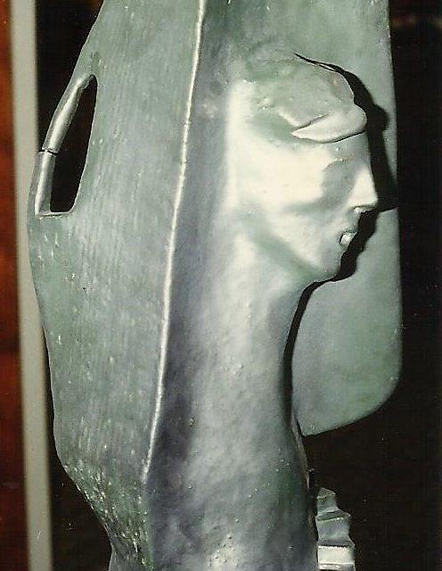 Escultura Ascenso Cristina Sánchez