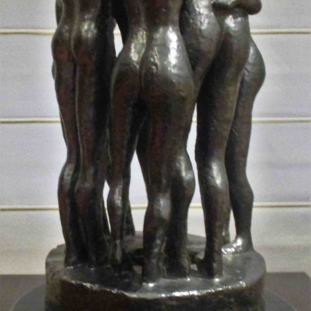 Escultura A Contramano Cristina Sánchez