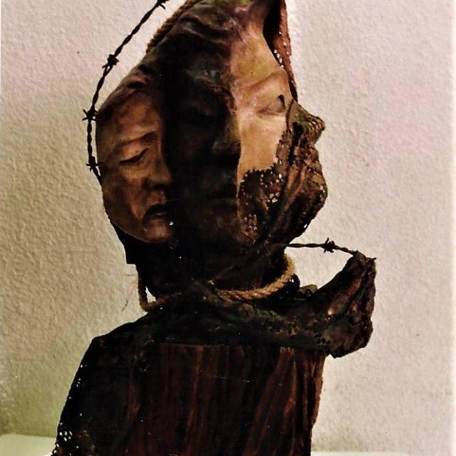 Escultura La Humanidad Cristina Sánchez