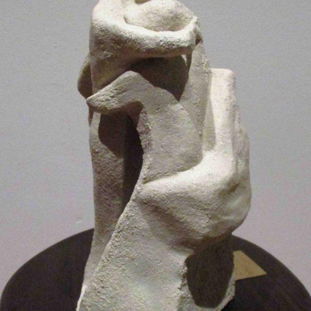 Escultura Caricia Cristina Sánchez