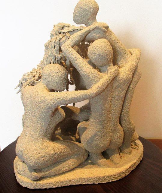 Escultura Unidos Cristina Sánchez