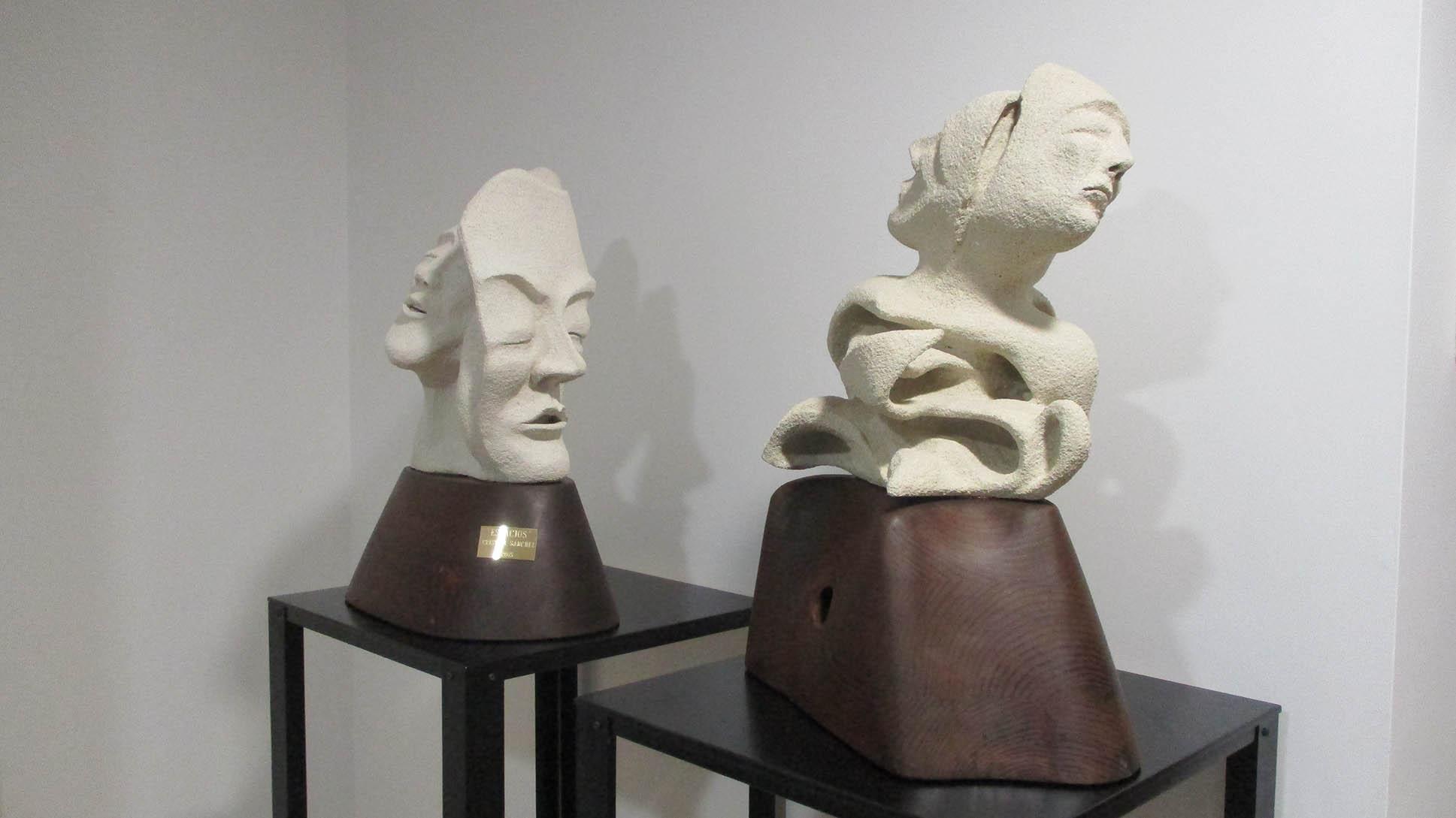 SANCHEZ ESTEVEZ esculturas Espacios y Huecos