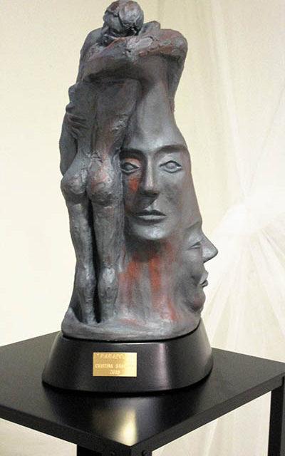 Escultura Paradoja Cristina Sánchez Estévez