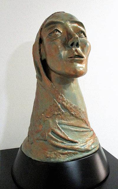 Escultura Súplica Cristina Sánchez Estévez