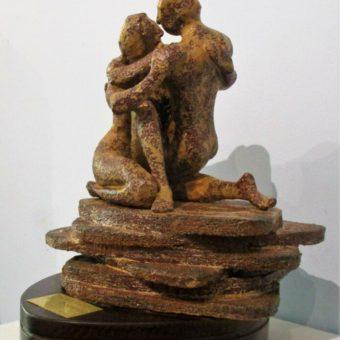 Escultura Abrazo Cristina Sánchez