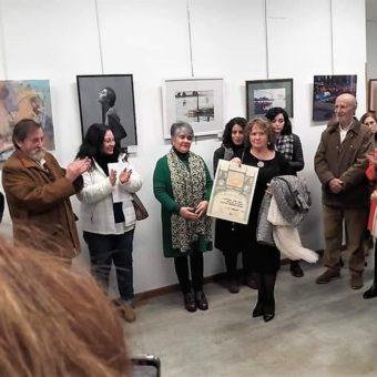"""Asociación Española de Pintores y Escultores AEPE. PREMIO: Mención de Honor por la obra """"Principio"""""""
