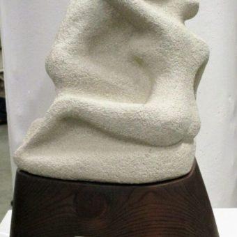 Escultura Principio Cristina Sánchez