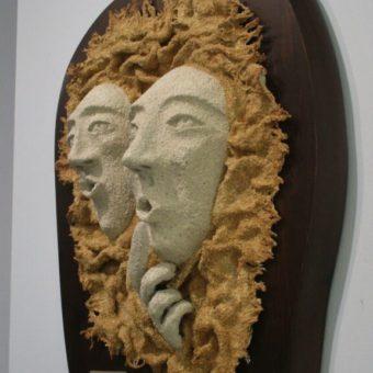 Escultura Silencio Cristina Sánchez
