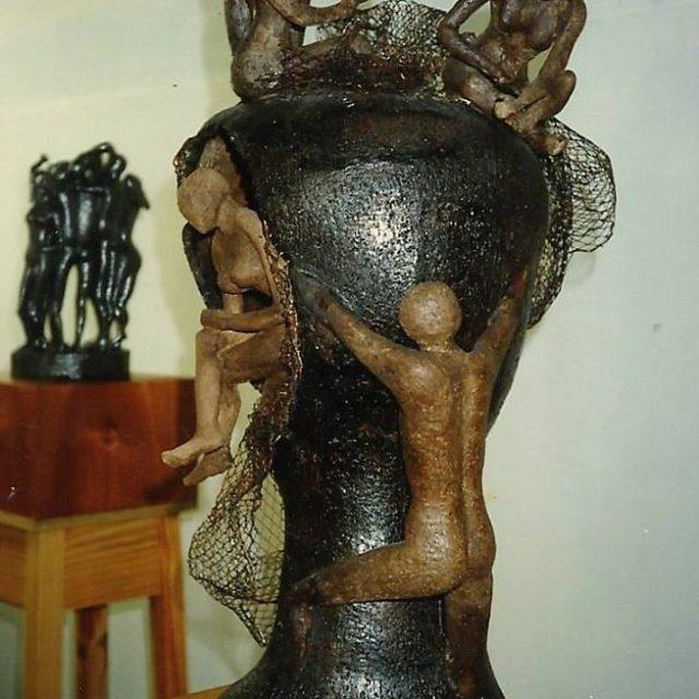 Escultura Vínculos Cristina Sánchez