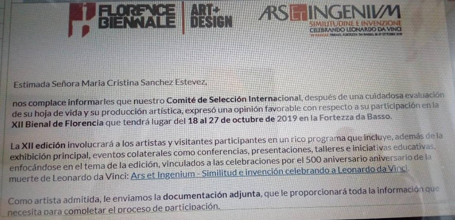 XII Biennale de Florencia